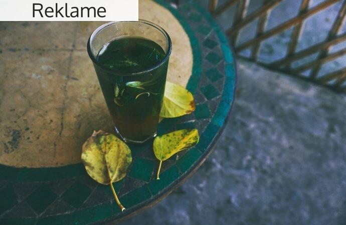 Find et stort udvalg af grøn te på nettet