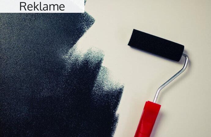 Guide: sådan kan du forme dine rum i boligen med maling