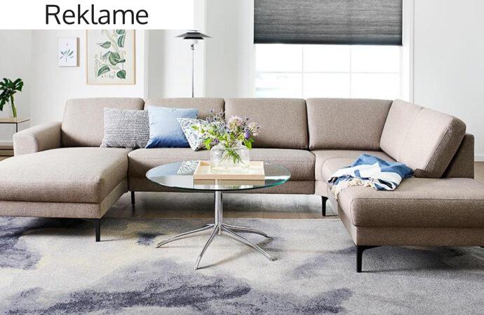 Inspiration til valg af sofa