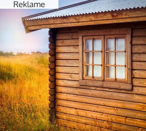 Gør sommerhuset klar med nye vinduer og glasdøre
