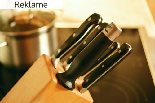 Find det rigtige knivsæt og fuldend køkkenet