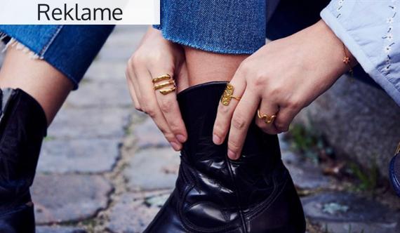 Giv din stil kant med smykker fra Maanesten