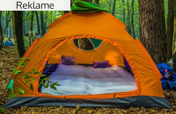 Sådan gør du campingturen så behagelig som mulig