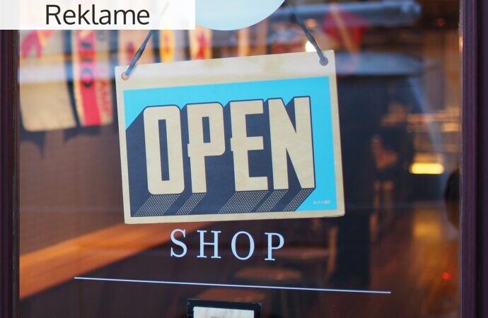 Udlev din drøm om at starte din egen butik