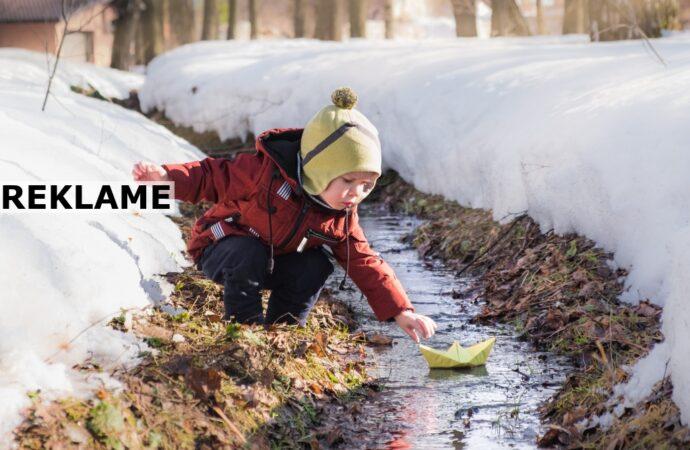 Sådan sikrer du varmen til dit barn i de kolde måneder