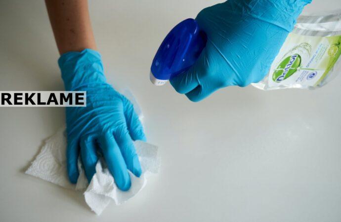 Et rent hjem uden brug af rengøringsmidler? Det kan faktisk godt lade sig gøre