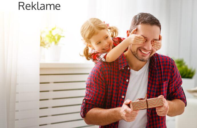 Sådan giver du den perfekte gave til fars dag