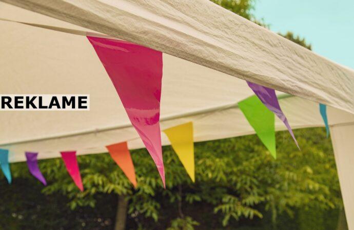 Bryllupper i haven | Et flot festtelt er et must!